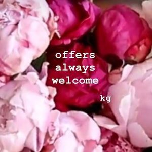 🌺  offers always welcome 🌺